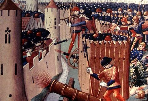 the siege of orleans guns gunpowder and longbows during the hundred years war