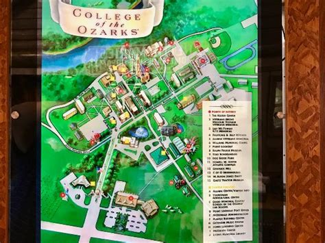Dobyns Dining Room Point Lookout by College Of The Ozarks Work College Map Picture Of Dobyns