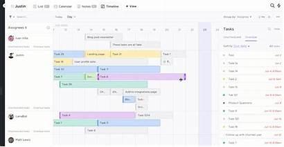 Clickup Chart Bar Management Project Asana Transformation