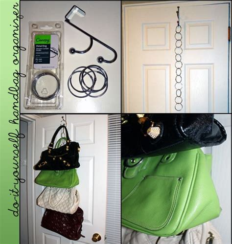 Diy Taschen Aufbewahrung by Best 25 Purse Storage Ideas On Purse