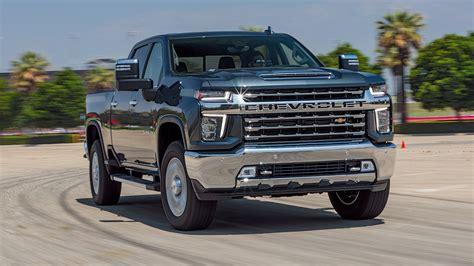 chevrolet silverado hd diesel  test review