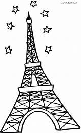 Eiffel Tower Coloring Pages Paris France Para Drawing Sheet Torre Clipartbest Colorear Printable Getcoloringpages Clipart sketch template