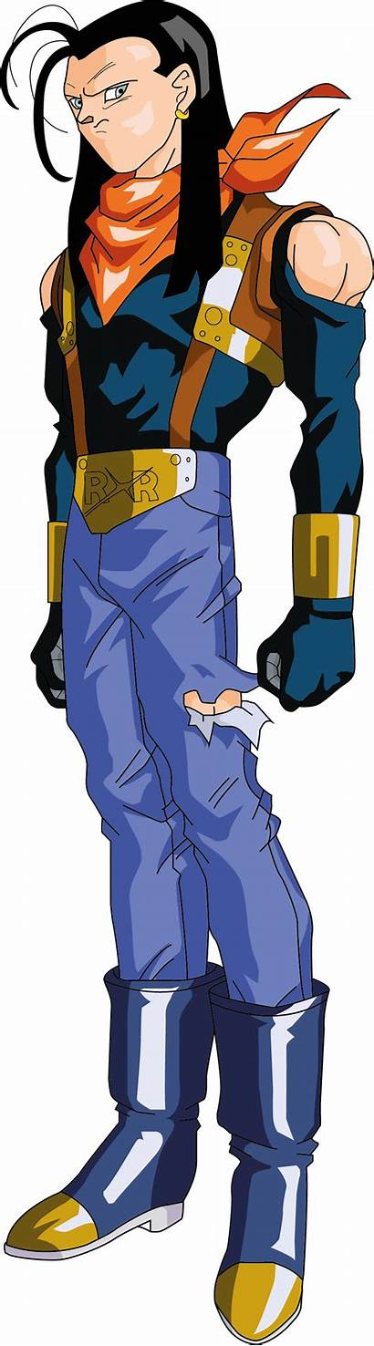 Dragon Ball Gt Android Dbz Villains Personajes