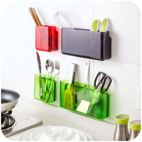 kitchen storage accessories aliexpress buy diy self adhesive wall shelf 3115