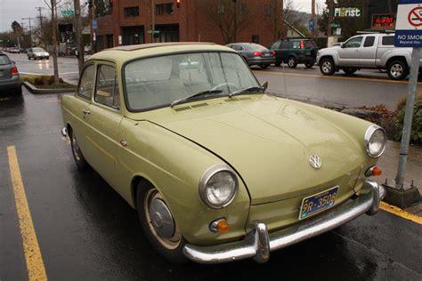 old volkswagen old parked cars 1962 volkswagen type 3 notchback