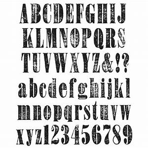 worn text alphabet tim holtz large cling rubber stamp With large letter rubber stamps