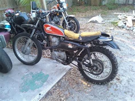 Honda Xl250 Motosport Test