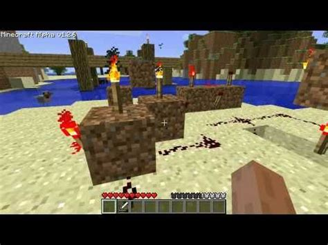 Minecraft Front Door Redstone Circuit Tutorial Outdated