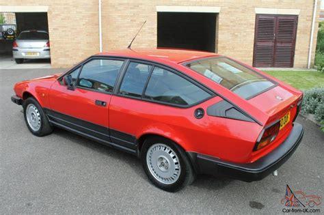 Alfa Romeo Alfetta 20 Gtv Coupe Classic Car Rhd Right