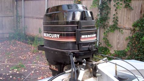 mercury outboard  horsepower youtube