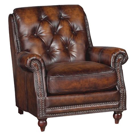 brown leather recliner chair westbury brown 34 quot brown leather chair