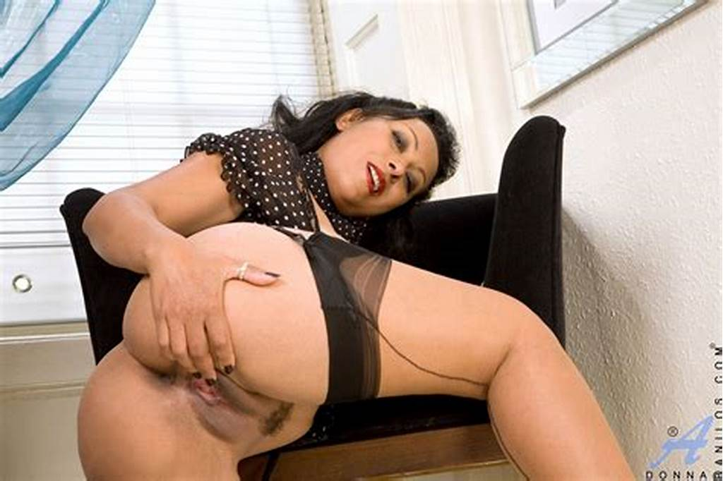 #Danica #Collins #In #Sexy #Black #Stockings
