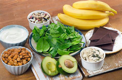 alimenti ricchi in magnesio alimenti ricchi di magnesio e benefici per la salute dr