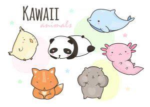 imagenes y dibujos kawaii de para colorear