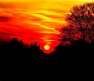 Red Sunset Photograph by Jasna Buncic