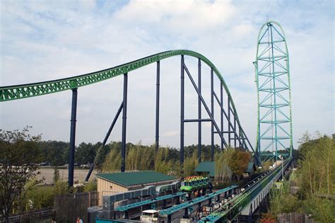 world roller coaster tallest roller coasters in the world