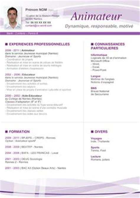 Modèle Cv Professionnel 2016 by Resume Format Mod 232 Le De Cv Vierge 224 T 233 L 233 Charger