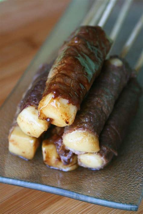 canalblog cuisine brochettes boeuf fromage comme chez le japonais