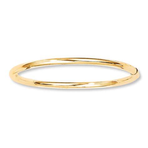 gold bracelet 14k baby bangle bracelet 14k yellow gold