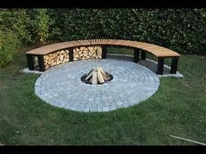 Feuerstelle im garten selber bauen gartenbank feuerstelle for Feuerstelle garten mit pflanzkübel de