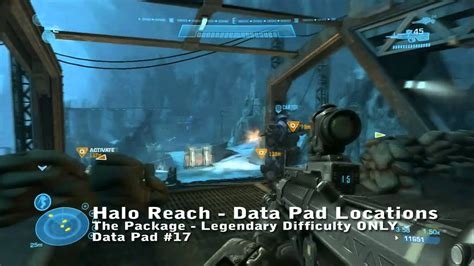 Halo Reach Data Pad Locations The Package
