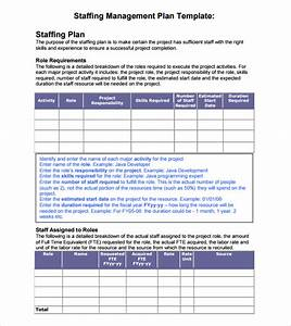 staffing plans template - 7 staffing model samples sample templates