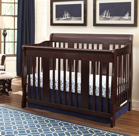 storkcraft tuscany crib storkcraft tuscany 4 in 1 convertible crib espresso 2575