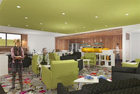 plan de travail bar cuisine espace cafétéria design architecture