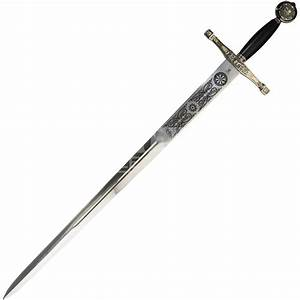 Black-Gold Excalibur Sword - SG203 by Medieval Collectibles