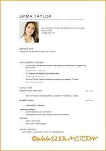 curriculum vitae doc word download 7 model cv modele de facture