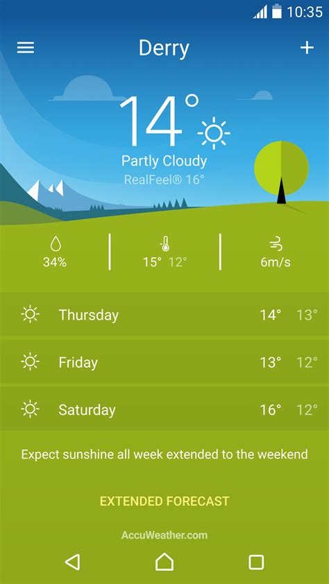 android weather app sony s xperia weather app is out of beta and live in the