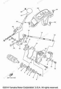 Yamaha Atv 2009 Oem Parts Diagram For Shift Shaft