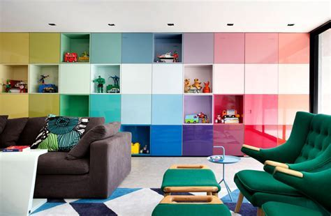 Colorful and Vibrant Home Interior by Guilherme Torres