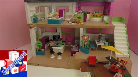playmobil luxevilla playmobil met zwembad keuken badkamer kinderkamer woonkamer