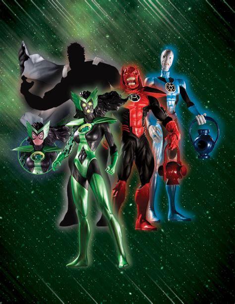 blackest night series  action figures raving toy maniac