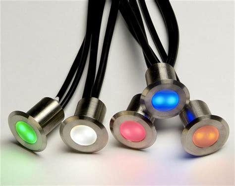 set of 10 rgb colour changing led deck lights decking