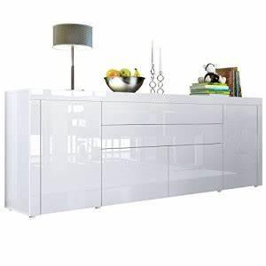 Sideboard 300 Cm : sideboard hochglanz wei gem tlich wohnen 2017 ideen gibt es hier ~ Whattoseeinmadrid.com Haus und Dekorationen
