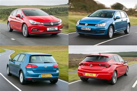 vauxhall golf twin test vauxhall astra vs vw golf parkers