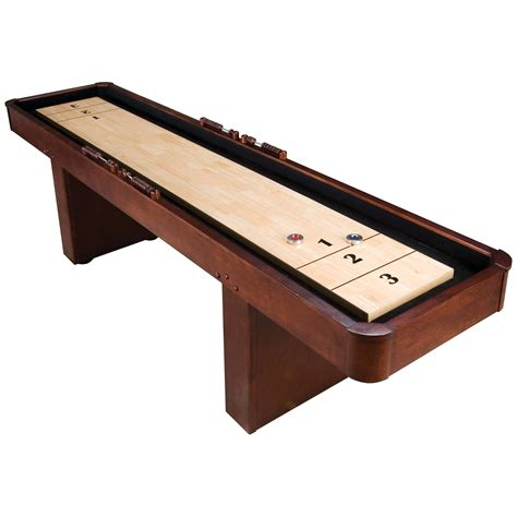 used outdoor shuffleboard table level best 9 ft mahogany shuffleboard table
