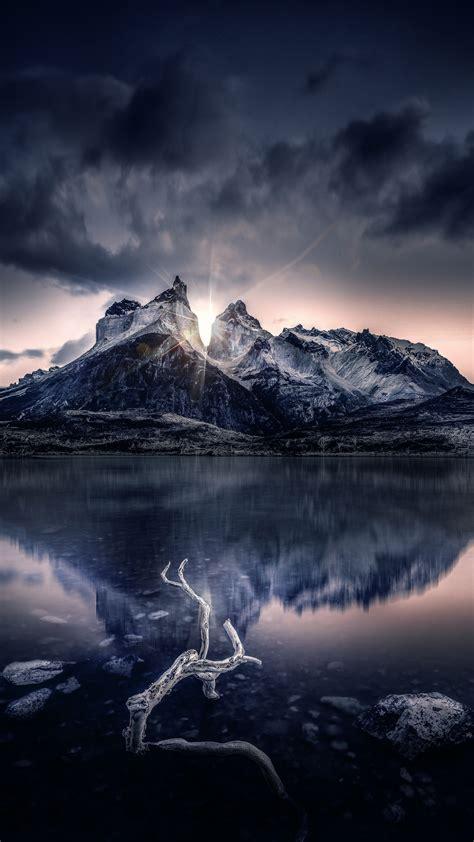 nature mountain lake sunlight wallpapers hd