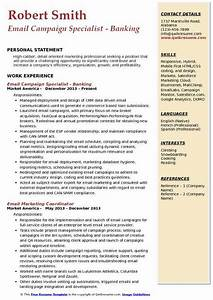 Email Marketing Specialist Resume Samples