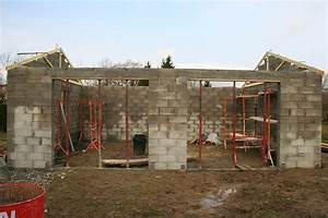 Prix Construction Garage 20m2 : plan de maison avec garage double ~ Nature-et-papiers.com Idées de Décoration