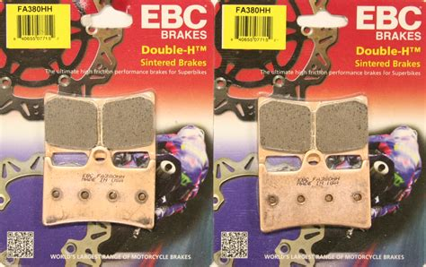 Ebc Hh Motorcycle Brake Pads Yzf-r1 And Yzf-r1m 2015-2017