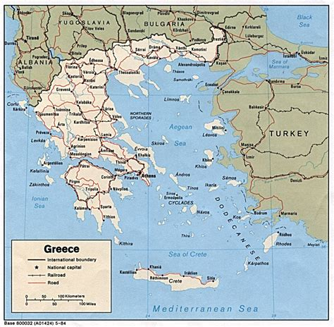 greece maps perry castaneda map collection ut library