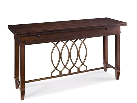 Mid Century Modern Sofa Table by Intrigue Mid Century Modern Flip Top Sofa Console Table
