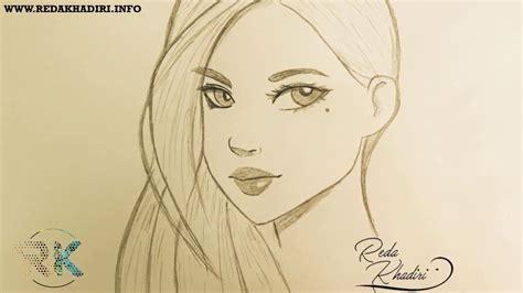 dessin facile fille 1 comment dessiner le visage d une fille moins d 1 minute