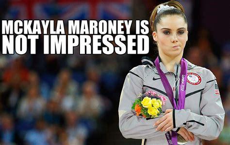 Gymnast Meme - former olympic gymnast mckayla maroney goes from unimpressed to best dressed celebrity news