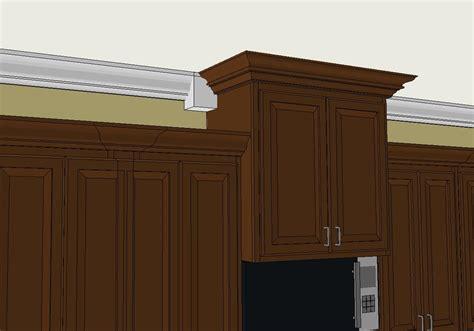 kitchen cabinet crown molding to pretty crown molding kitchen cabinets on kitchen