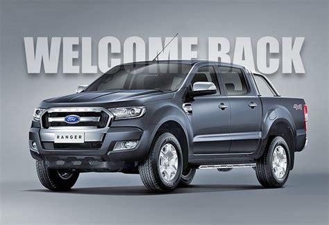 2017 Ford Ranger, Ford Bronco Confirmed for US