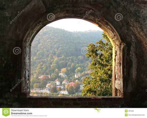 ancient window stock photography image